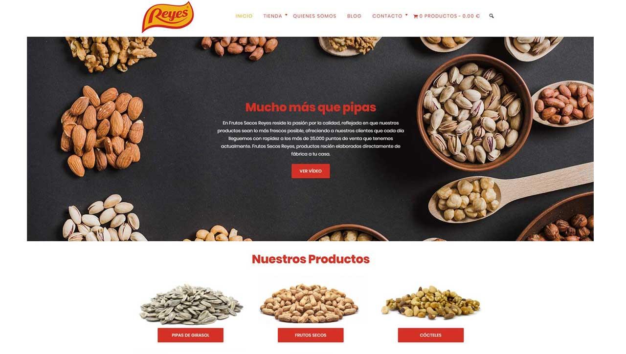 Tienda Online Frutos Secos Reyes