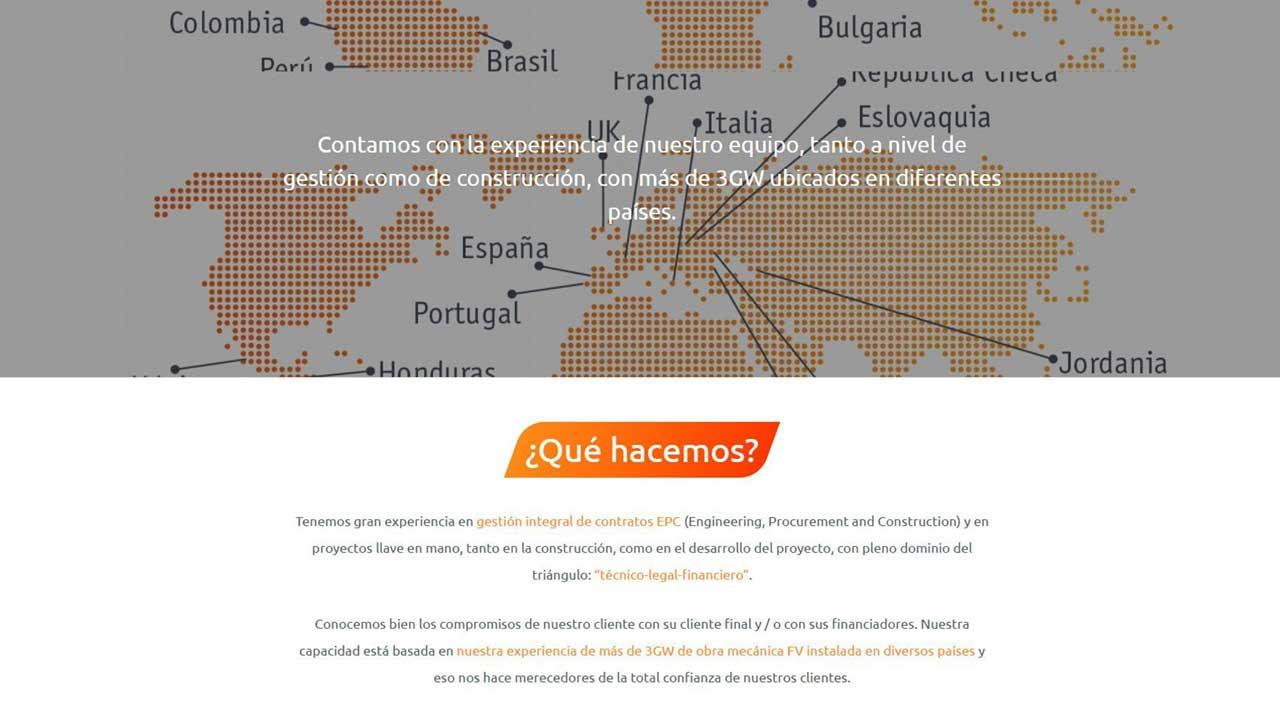 Web para Ibéricas Renovables