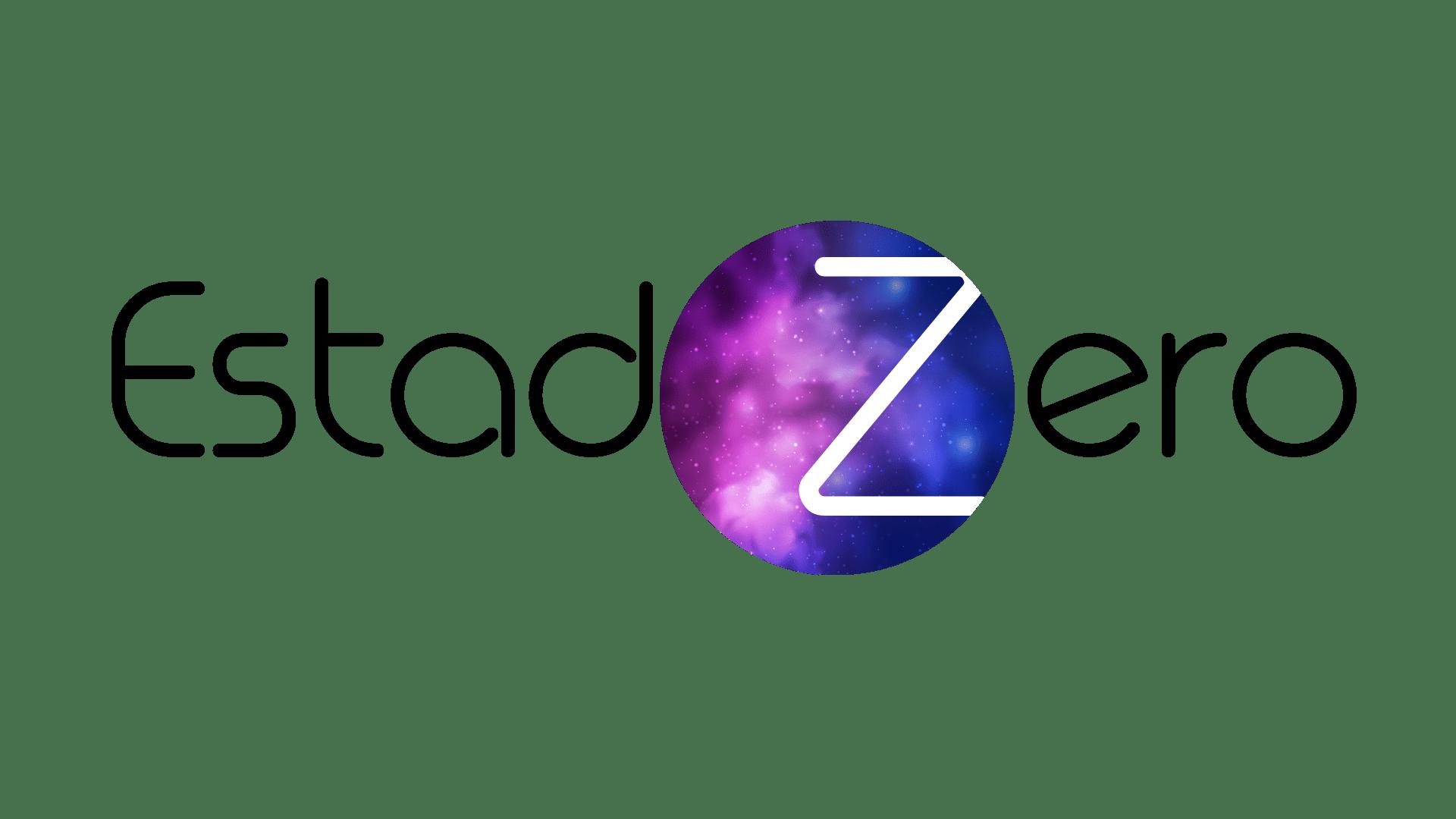 Diseño logotipo Estado Zero
