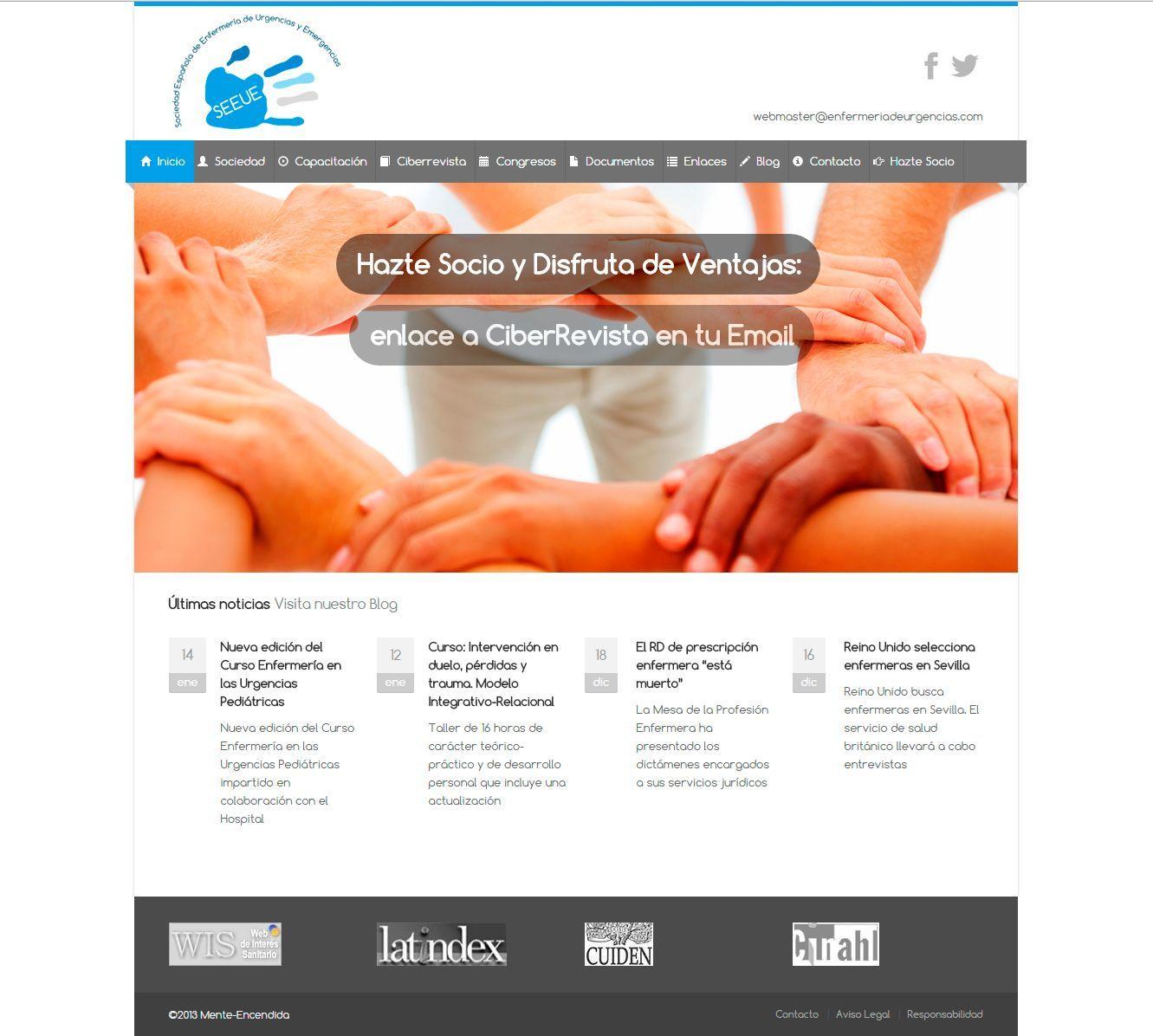 Diseño web para SEEUE